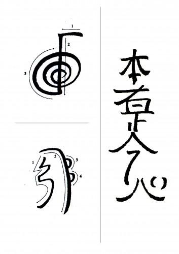 Reiki szimbólumok