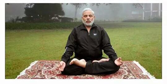 modiji yoga