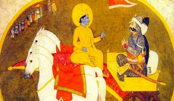 krishna-arjuna-moghul-style