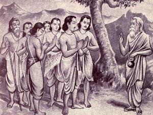 guru-and-pandavas